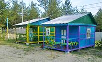 база отдыха Дюна на Голубых озерах